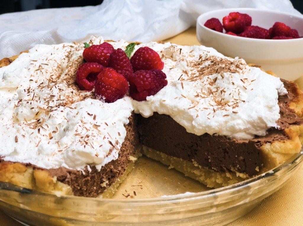 Sugar-Free French Silk Chocolate Pie