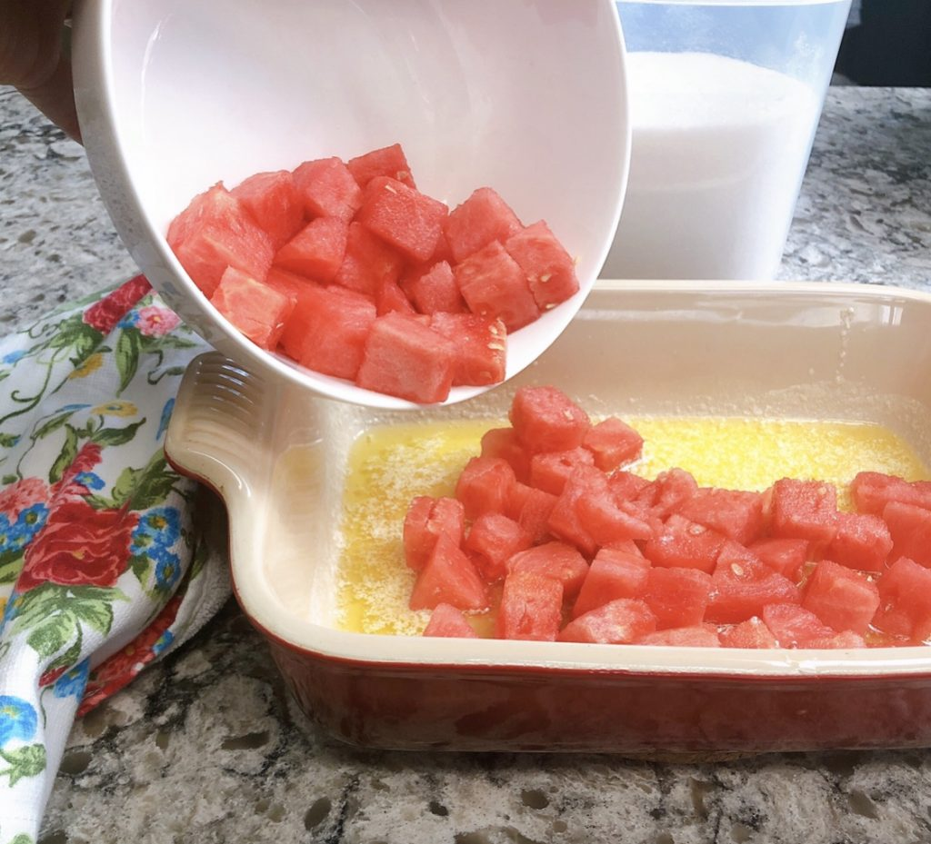 Watermelon Cobbler