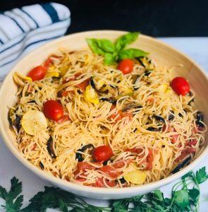 garden-veggie-pasta-recipe-heather-lucilles-kitchen-food-blog