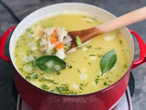 rotisserie-chicken-soup-recipe-heather-lucilles-kitchen-food-blog