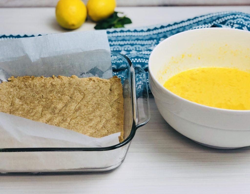 Paleo Lemon Bar Recipe