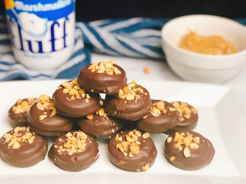 chocolate-covered-fluffernutter-cookies-recipe-heather-lucilles-kitchen-food-blog