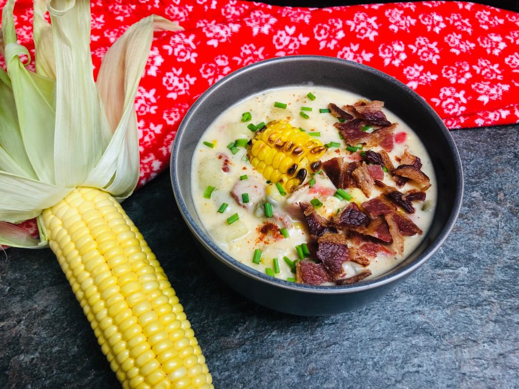 Smoky Corn Chowder