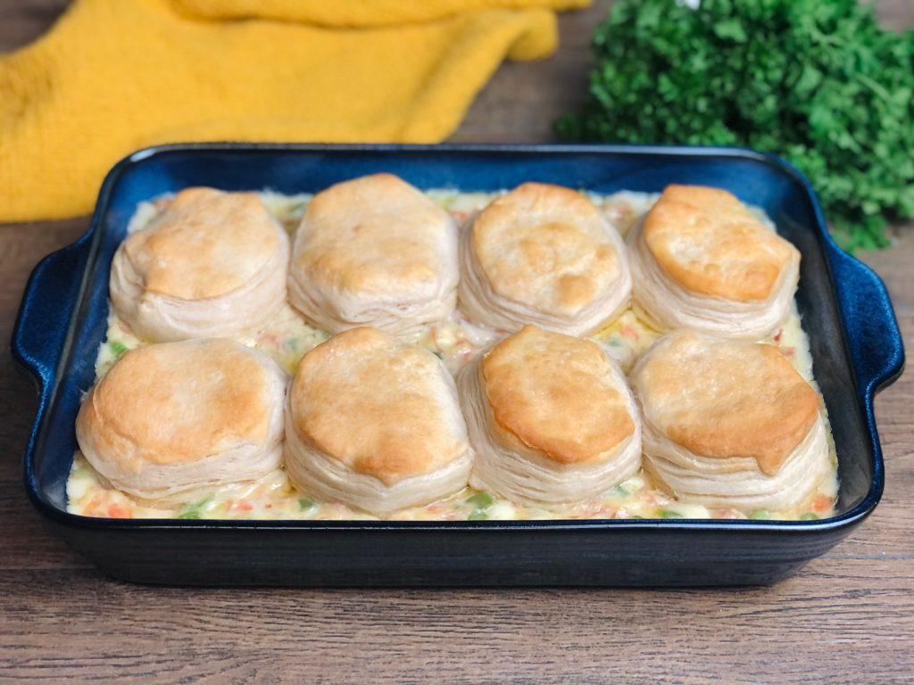 Savory Ham Pot Pie
