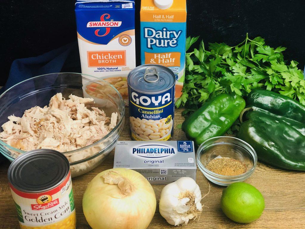 Roasted Poblano Chicken Chili Recipe