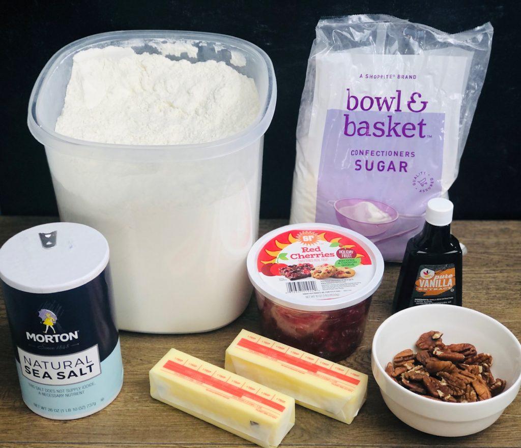 cherry-pecan-snowball-cookies-recipe-heather-lucilles-kitchen-food-blog