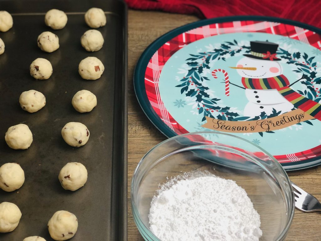 cherry-pecan-snowball-cookies-recipe-heather-lucilles-kitchen-food-blog