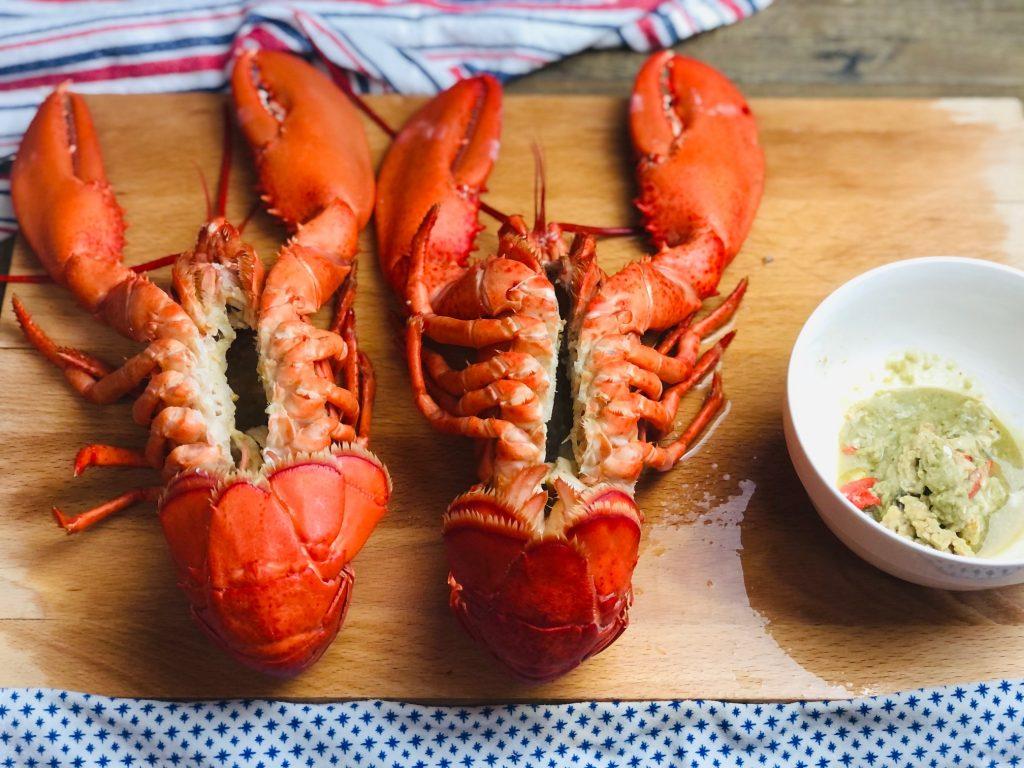 Easy Baked Stuffed Lobster