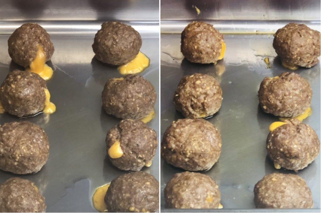 Cheeseburger Biscuit Bombs