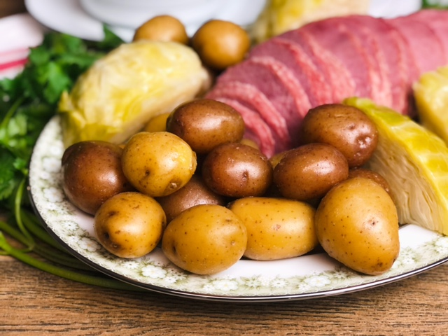 Irish Boiled Potatoes